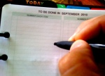 Update your dayplanner