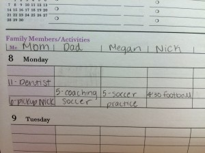 Family Schedule