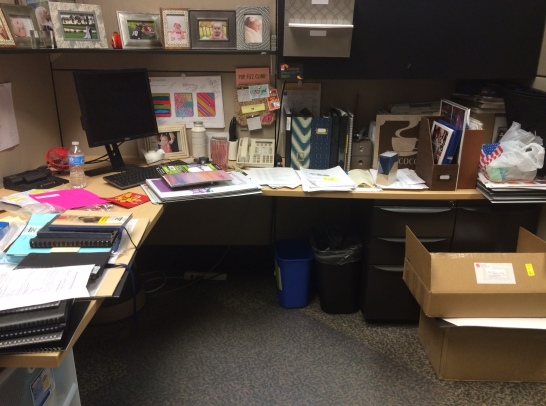 A Messy Office